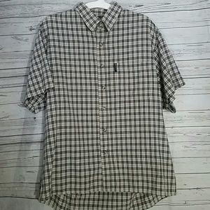 TOMMY HILFIGER Boys Plaid Shirt Size XL
